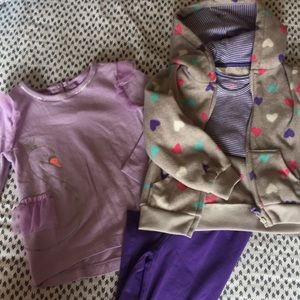 Mix and match 24 month girls carters
